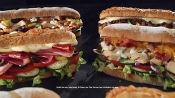 Subway TV Spot, 'Still Serving: Free Delivery' - Thumbnail 1