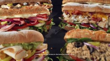 Subway TV Spot, 'Still Serving: Free Delivery' - Thumbnail 2