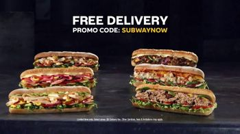 Subway TV Spot, 'Still Serving: Free Delivery' - Thumbnail 6