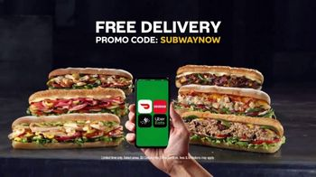 Subway TV Spot, 'Still Serving: Free Delivery' - Thumbnail 7