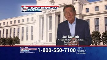 Medicare Coverage Helpline TV Spot, 'Telemedicine Benefit' Featuring Joe Namath - 31 commercial airings