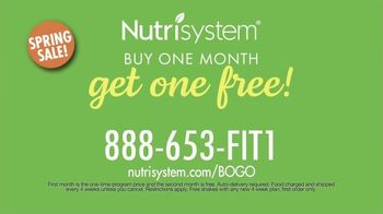 Nutrisystem Spring Sales Event TV Spot, 'BOGO: 28-Day Plan' - Thumbnail 9