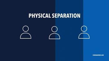 Centers for Disease Control and Prevention TV Spot, 'COVID-19: Physical Separation' - Thumbnail 7