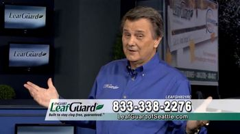 LeafGuard of Seattle Spring Blowout Sale TV Spot, 'Revolutionizing the Gutter Industry' - Thumbnail 4