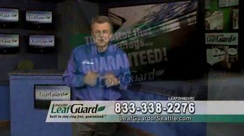 LeafGuard of Seattle Spring Blowout Sale TV Spot, 'Revolutionizing the Gutter Industry' - Thumbnail 7
