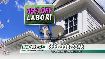 LeafGuard of Seattle Spring Blowout Sale TV Spot, 'Revolutionizing the Gutter Industry' - Thumbnail 8