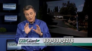 LeafGuard of Seattle Spring Blowout Sale TV Spot, 'Revolutionizing the Gutter Industry' - Thumbnail 9