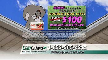 LeafGuard of Pittsburgh Spring Blowout Sale TV Spot, 'Calendar' - Thumbnail 8