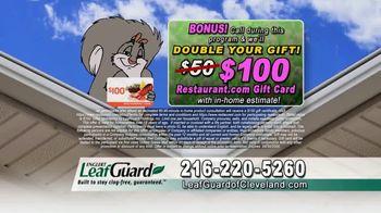 LeafGuard of Cleveland Spring Blowout Sale TV Spot, 'Damage' - Thumbnail 8
