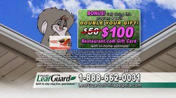 LeafGuard of Philadelphia Spring Blowout Sale TV Spot, 'Tired of Climbing a Ladder' - Thumbnail 8