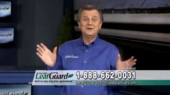 LeafGuard of Philadelphia Spring Blowout Sale TV Spot, 'Tired of Climbing a Ladder'