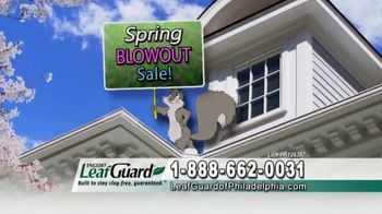 LeafGuard of Philadelphia Spring Blowout Sale TV Spot, 'Tired of Climbing a Ladder' - Thumbnail 4