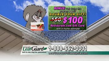 LeafGuard of Philadelphia Spring Blowout Sale TV Spot, 'Tired of Climbing a Ladder' - Thumbnail 7