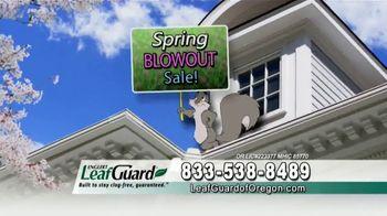 LeafGuard of Oregon Spring Blowout Sale TV Spot, 'Single Piece of Aluminum' - Thumbnail 8