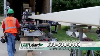 LeafGuard of Oregon Spring Blowout Sale TV Spot, 'Single Piece of Aluminum' - Thumbnail 1