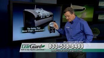 LeafGuard of Oregon Spring Blowout Sale TV Spot, 'Single Piece of Aluminum' - Thumbnail 2