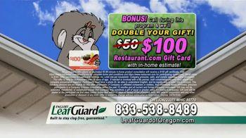 LeafGuard of Oregon Spring Blowout Sale TV Spot, 'Single Piece of Aluminum' - Thumbnail 7