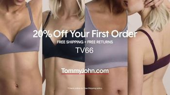 Tommy John Bras TV Spot, 'Your New BFF: 20 Percent Off Your First Order' - Thumbnail 10
