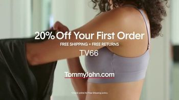 Tommy John Bras TV Spot, 'Your New BFF: 20 Percent Off Your First Order' - Thumbnail 8