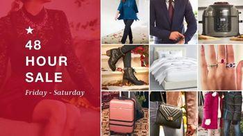 Macy's 48 Hour Sale TV Spot, 'Coats, Boots and Ninja Foodi'