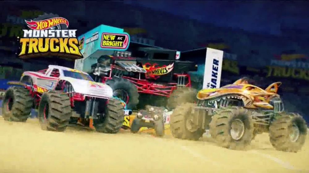 Hot Wheels Monster Trucks Tv Commercial Racing Number One Ispot Tv