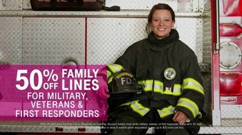 T-Mobile TV Spot, 'Military & First Responders: 50 Percent Off'