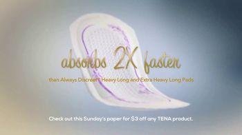 TENA Intimates TV Spot, 'Life Happens Fast: $3 Off' - Thumbnail 6