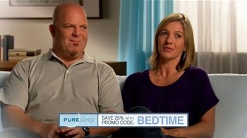 PureSleep TV Spot, 'Share Your Bed Again: Save 25 Percent'