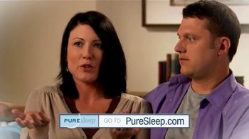 PureSleep TV Spot, 'Share Your Bed Again: Save 25 Percent' - Thumbnail 1