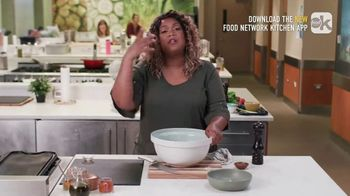 Food Network Kitchen App TV Spot, 'Sunny's Curry Pork Burgers' - Thumbnail 4