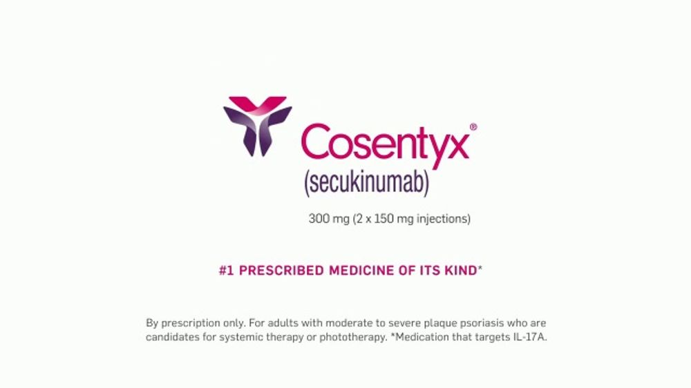Cosentyx Psoriasis Tv Commercial Kind Of A Shock