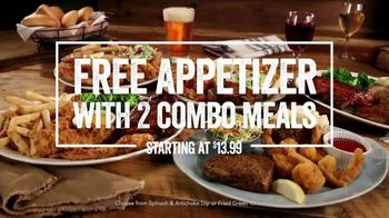 O'Charley's TV Spot, 'Free Appetizer With Two Combo Meals' - Thumbnail 8