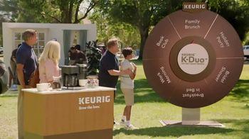 Keurig K-Duo TV Spot, 'Spinner: Family Brunch' Featuring James Corden - 2497 commercial airings