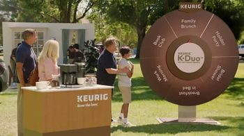 Keurig K-Duo TV Spot, \'Spinner: Family Brunch\' Featuring James Corden