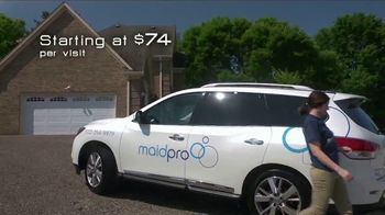 MaidPro TV Spot, 'We Know How Valuable Your Time and Money Are' - Thumbnail 2