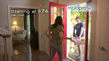 MaidPro TV Spot, 'We Know How Valuable Your Time and Money Are' - Thumbnail 3
