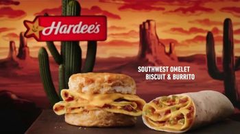 Hardee\'s Southwest Omelet Biscuit and Burrito TV Spot, \'Say Good Morning\'