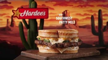 Hardee's Southwest Patty Melt TV Spot, 'Yippee-Ki-Yay'