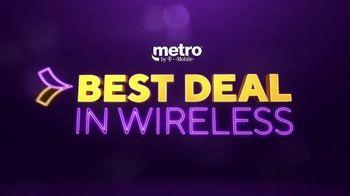 Metro by T-Mobile TV Spot, 'Best Deal in Wireless Is On'
