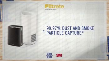 Filtrete Room Air Purifier TV Spot, '3M: Capturing Dust and Smoke' - Thumbnail 3