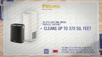 Filtrete Room Air Purifier TV Spot, '3M: Capturing Dust and Smoke' - Thumbnail 5
