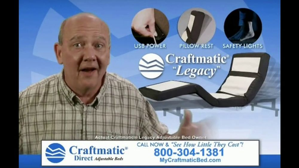 Craftmatic Legacy TV Commercial, 'See for Yourself'