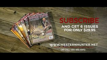 Western Hunter Magazine TV Spot, 'A Complete Guide to Hunting the West' - Thumbnail 8