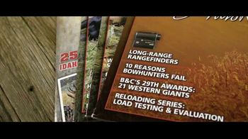 Western Hunter Magazine TV Spot, 'A Complete Guide to Hunting the West' - Thumbnail 4