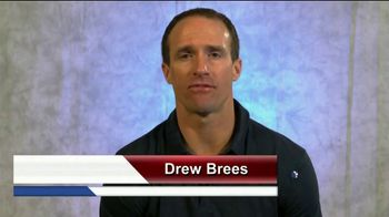 Coalition to Salute America's Heroes TV Spot, 'Veterans and PTSD' Featuring Drew Brees - Thumbnail 1