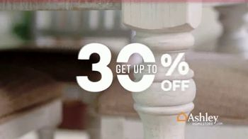 Ashley HomeStore Veterans Day Sale TV Spot, 'Going on Now: 30 Percent Off' Song by Midnight Riot - Thumbnail 2