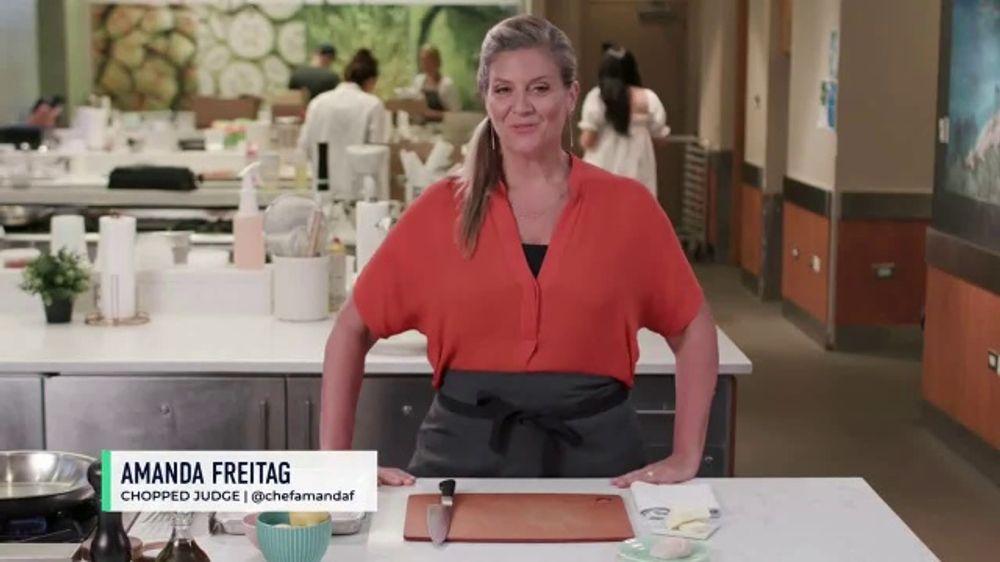 Food Network Kitchen App TV Commercial, 'Amanda's Seared Scallops'