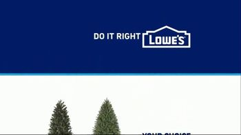 Lowe's Black Friday Deals TV Spot, 'The Right Tree: Artificial Christmas Trees' - Thumbnail 10