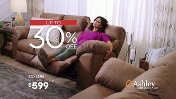 Ashley HomeStore Presidents Day Sale TV Spot, '30 Percent Off: Reclining Sofa' Song by Midnight Riot