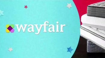 Wayfair Mattress Markdowns Event TV Spot, 'Up to 65 Percent Off' - Thumbnail 1